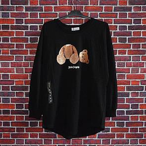 Лонгслив Palm Angels bear Black
