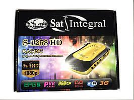 Спутниковый ресивер Sat-Integral S-1258 HD RACING