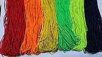 Резинка шляпная цветная