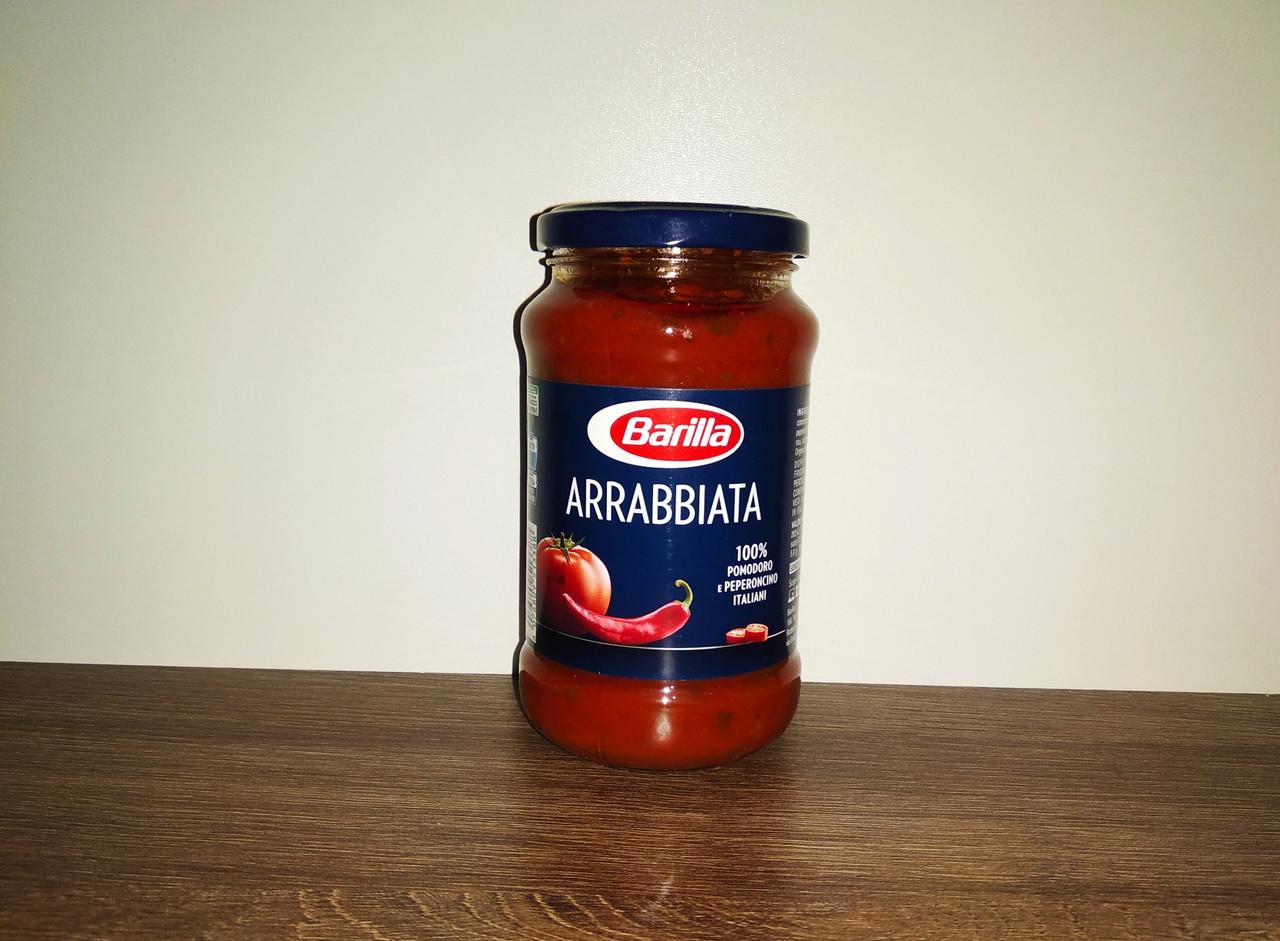 Соус Barilla Arrabbiata з гострим перцем 400 мл.
