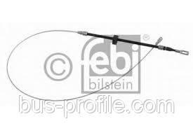 Трос ручника центральный (короткая база) на MB Sprinter, VW LT 1996-2006 — Febi (Германия) — 23974
