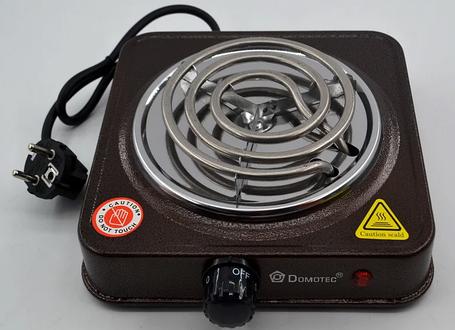 Электроплита 1 комфорка спираль Domotec MS-5801 (1000 Вт), фото 2