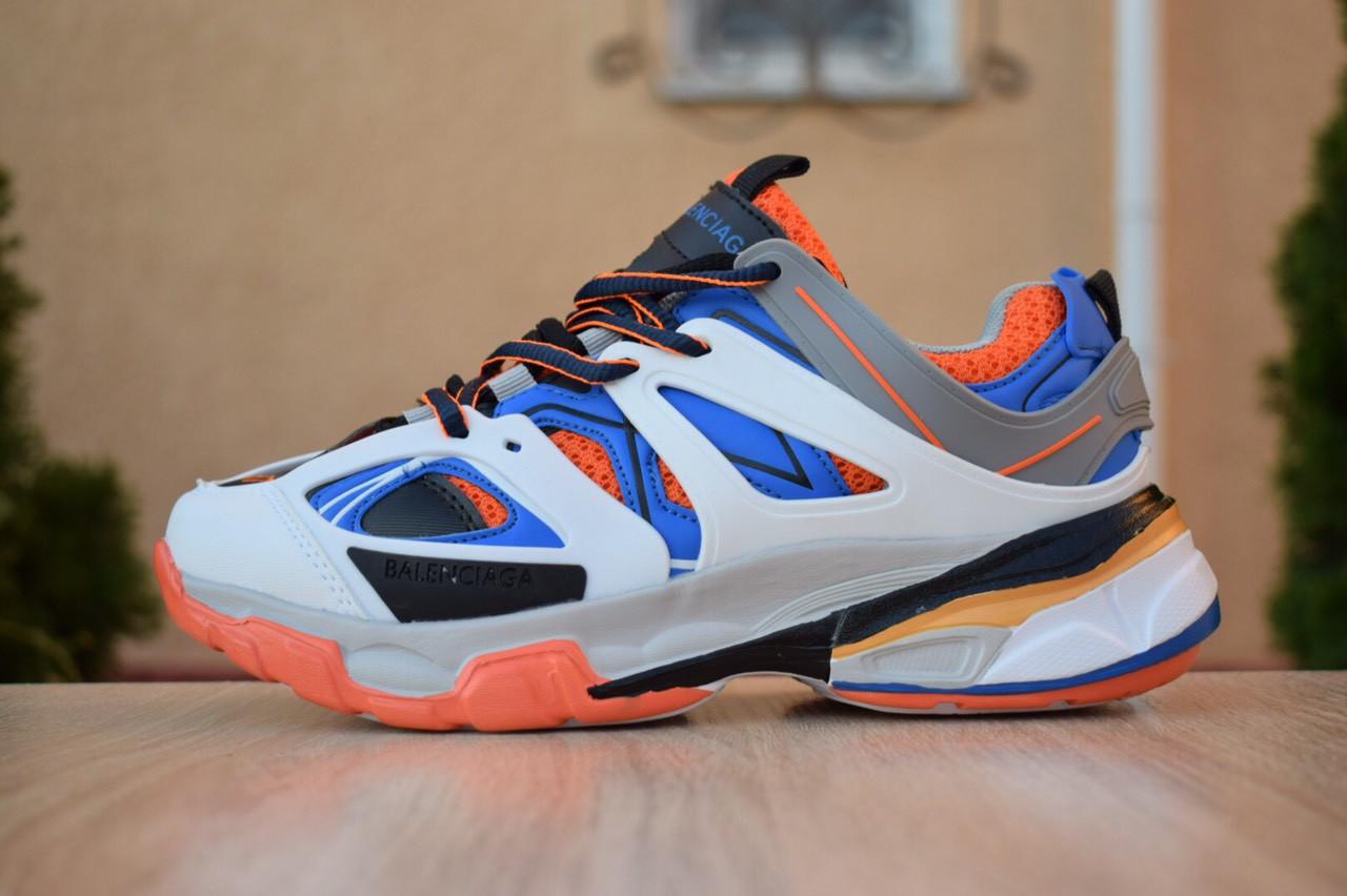 Жіночі кросівки Balenciaga Track (біло-сині) 2890