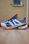 Жіночі кросівки Balenciaga Track (біло-сині) 2890, фото 4
