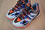 Женские кроссовки Balenciaga Track (бело-синие) 2890, фото 7