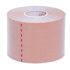 Кинезио тейп в рулоне 5см х 5м (Kinesio tape) эластичный пластырь BC-0474-5 (цвета в ассортименте)