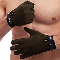 Перчатки тактические с закрытыми пальцами 5.11 BC-0527 (р-р M-XL, цвета в ассортименте)