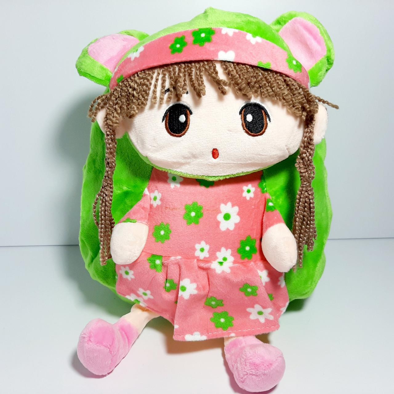 Рюкзак детский мягкий плюшевый