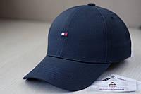 Синяя кепка с логотипом Tommy Hilfiger