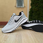 Мужские кроссовки Nike Zoom Racer (серые) 10043, фото 4