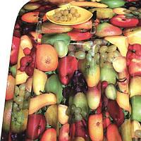 """Клеенка ПВХ в рулоне """"DEKORAMA"""" размер 1,4х20м, с принтом фрукты, клеенка в рулонах, скатерти клеенка, клеенка ПВХ"""
