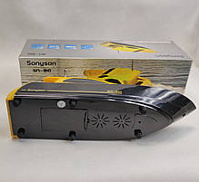 Портативная колонка катер акустика для телефона мини с флешкой радио желтая SN910, фото 2