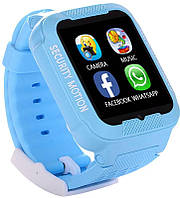 Дитячі смарт годинник Smart Watch K3 сині, IPS, сенсор, 380мАч, MicroUSB / Bluetooth / GPS, 2Мп, Смарт годинник, Розумний годинник, Smart Watch