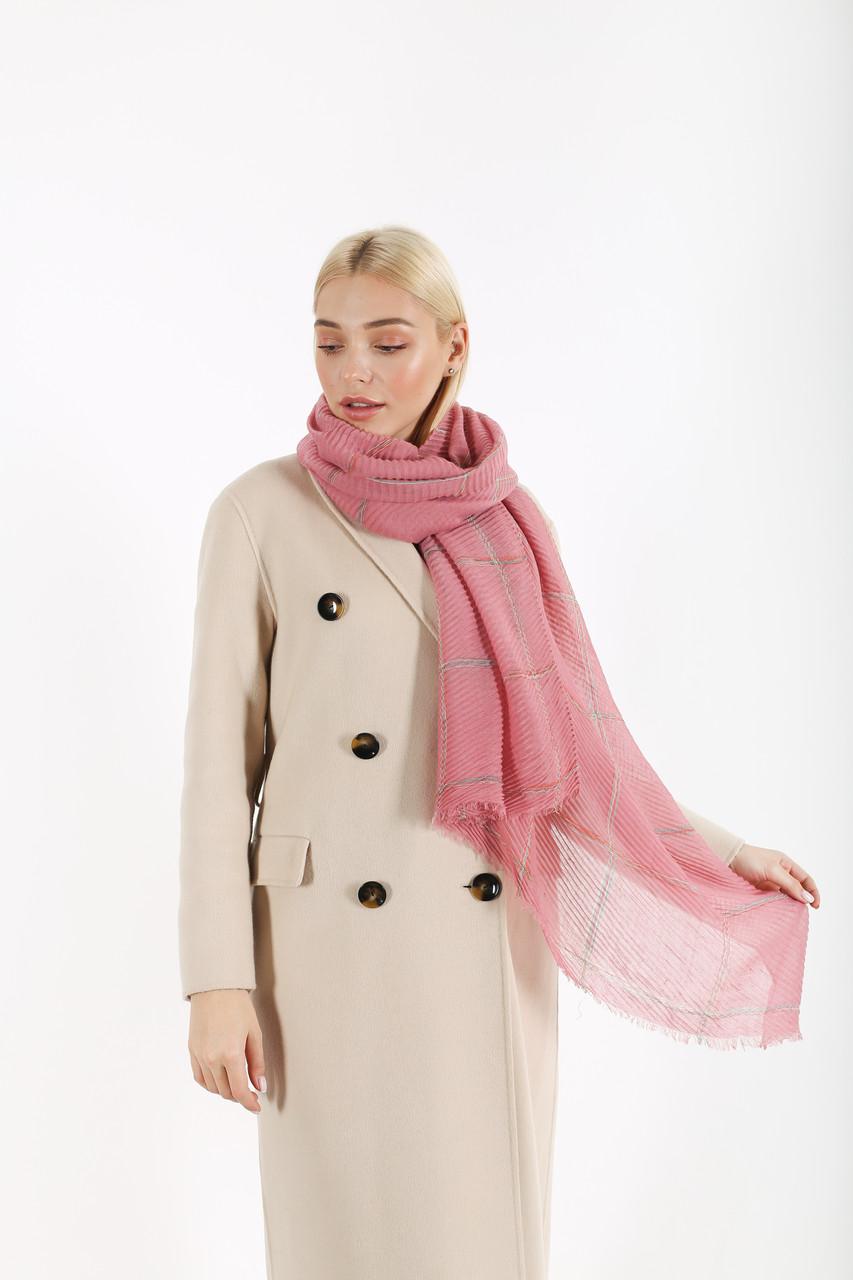 Шарф FAMO Іман рожевий 170*110 (А-8473-1) #L/A