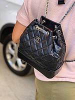 Модный женский рюкзак Шанель (реплика), фото 1
