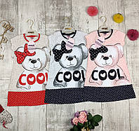 Платья детские летние трикотажные Pink 4723, фото 1