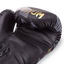 Перчатки боксерские PU на липучке VENUM IMPACT BO-0870 (р-р 8-12oz, черный камуфляж), фото 4