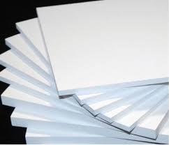 ПВХ спінений білий 5 мм (0,5) лист 1220х3050 мм