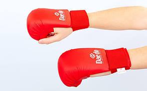 Перчатки для каратэ DADO BO-5076 (PU, р-р S-L, манжет на резинке, цвета в ассортименте)