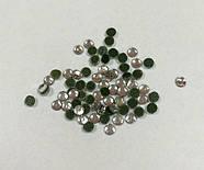 Стразы термоклеевые Стекло Серебро 3 мм (50 штук), фото 2