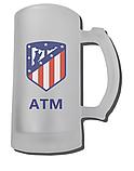 Бокал для пива ФК Атлетико, фото 2