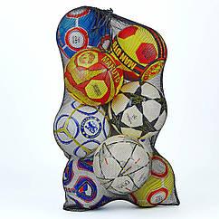 Сетка для мячей C-0811 (полипропилен, на 10 мячей, р-р 100х57см)