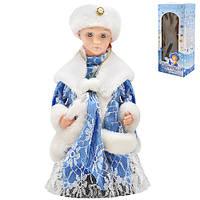 Снегурочка B00423 пластик, 30см, музыка, свет, движение, новогодние украшения, елочные игрушки, новогодние игрушки, новогодний декор