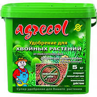 Удобрение для хвои Агрекол/ Agrecol 5 кг — обеспечивает правильный рост, интенсивное развитие