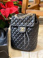 Модний жіночий рюкзак Шанель (репліка), фото 1