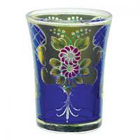 Стакан стеклянный Фиалка GA36402T в наборе 6 штук, 200 мл, набор стаканов, стаканы набор, комплект стаканов, стеклянные стаканы