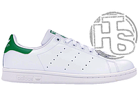 Женские кроссовки Adidas Stan Smith White/Green M20324