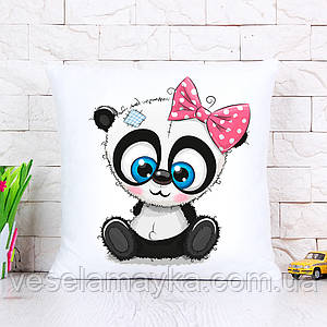 Дитяча подушка Мила панда