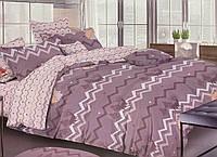 Двуспальный комплект постельного белья 180*220 сатин (13950) TM КРИСПОЛ Украина