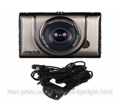 Видеорегистратор Anytek A100H на 2 камеры HDMI