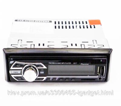 Автомагнитола 1DIN MP3-6317 RGB