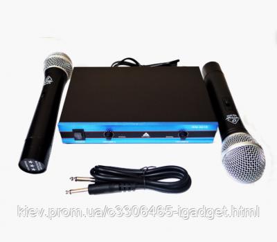 Беспроводная радиосистема на два микрофона Behringer WM-501R