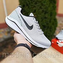 Мужские кроссовки Nike Zoom Racer (серые) 10043