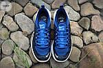 Мужские кроссовки Nike Air Max Axis (черно-белые с синим) 339TP, фото 3