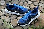 Мужские кроссовки Nike Air Max Axis (черно-белые с синим) 339TP, фото 5