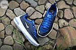 Мужские кроссовки Nike Air Max Axis (черно-белые с синим) 339TP, фото 6