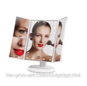 Зеркало с LED Подсветкой 4 отсека