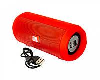 Портативна Bluetooth колонка JBL Charge MINI червона, MP3 / microSD / USB / AUX, від акумулятора 1500мАч, колонка