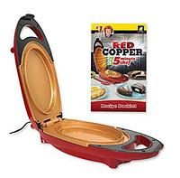 Электрическая Скороварка Red Cooper 5 Minuts Chef Для Вторых Блюд Мультиварка Пароварка.