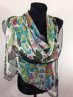 Молодежный легкий шарф(Углы по косой) (цв 13), фото 1