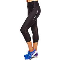 Леггинсы короткие для фитнеса и йоги VSX CO-6476 размер S-L-42-48 цвета в ассортименте