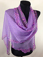 Молодежный легкий шарф(Углы по косой) (цв 14), фото 1