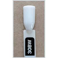 Гель-лак Kodi Professional 30BW, Плотный белый с легким оливково-серым, эмаль