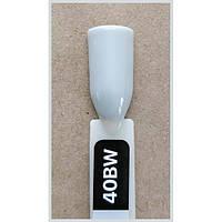Гель-лак Kodi Professional 40BW, Светло-серый с легким оливковым подтоном, эмаль