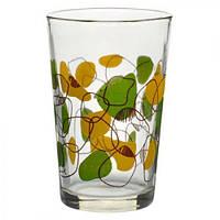 """Стакан стеклянный Stenson """"Колосок"""" MS-0046 27 в наборе 6 штук, 225 мл, набор стаканов, стаканы набор, комплект стаканов, стеклянные стаканы"""