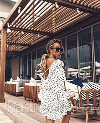 Платье с открытой спиной Лето 2020